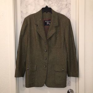 Ladies Burberry's of london wool  blazer sz 14p
